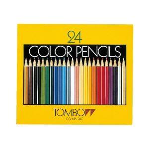 トンボ 色鉛筆セット 紙箱入・24色