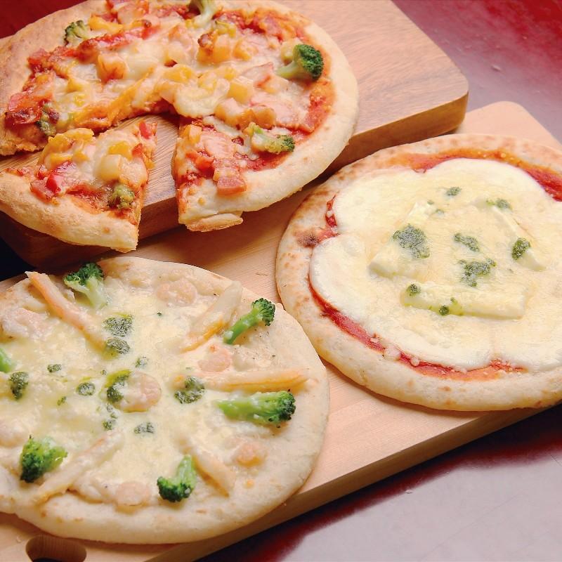 北海道チーズピザ3枚