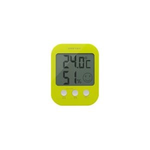 dretec(ドリテック) デジタル温湿度計「オプシス」 O-230GN グリーン