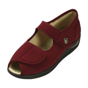 マリアンヌ製靴 彩彩~ちりめん~ W1103 婦人用 /25.0cm あずき