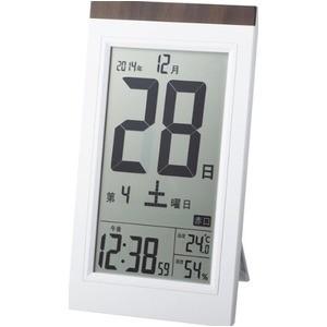 ADESSO(アデッソ) 日めくり電波時計 KW9254