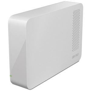 バッファロー ドライブステーション ターボPC EX2 Plus対応 USB3.0用 外付けHDD 2TBホワイト HD-LC2.0U3-WHE
