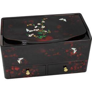小花蝶 ティッシュボックス 小物入れ L2018046 L3189594