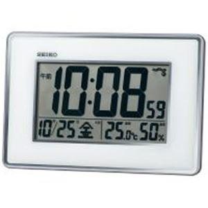 (まとめ)セイコークロック 掛置兼用電波時計 SQ443S【×5セット】