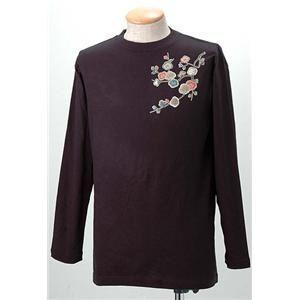 語れる立体和柄ロングTシャツ S-1952/花つくし L
