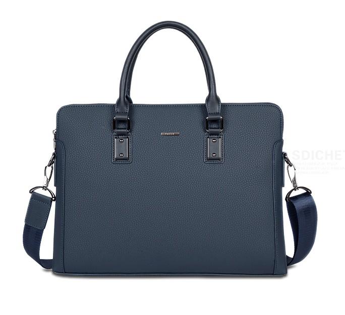 Faniya 高品質 メンズ ビジネスバッグ ブリーフケース A4 本革 牛革 大容量 2way 通勤 出張/G170315b