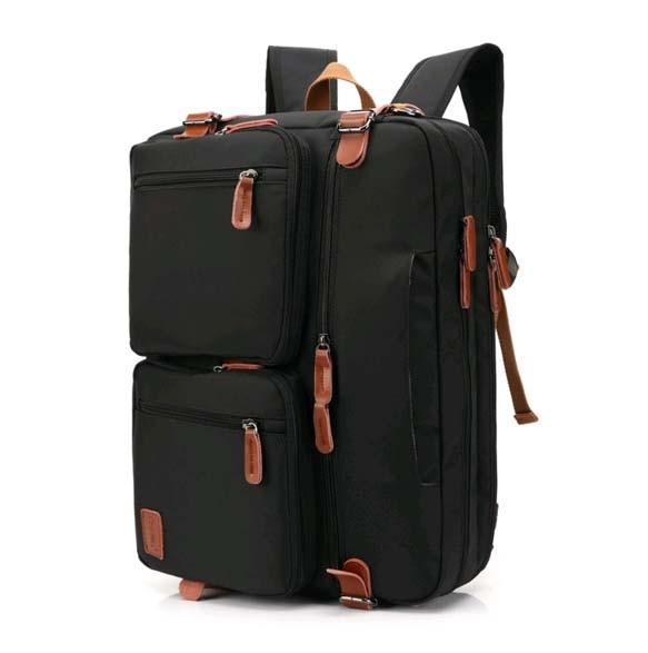 ビジネスバッグ メンズ リュック 3WAY PCバッグ 就活 14インチパソコン対応 ショルダー 手提げ 斜めがけ 鞄 大容量 ブラック/G170820b