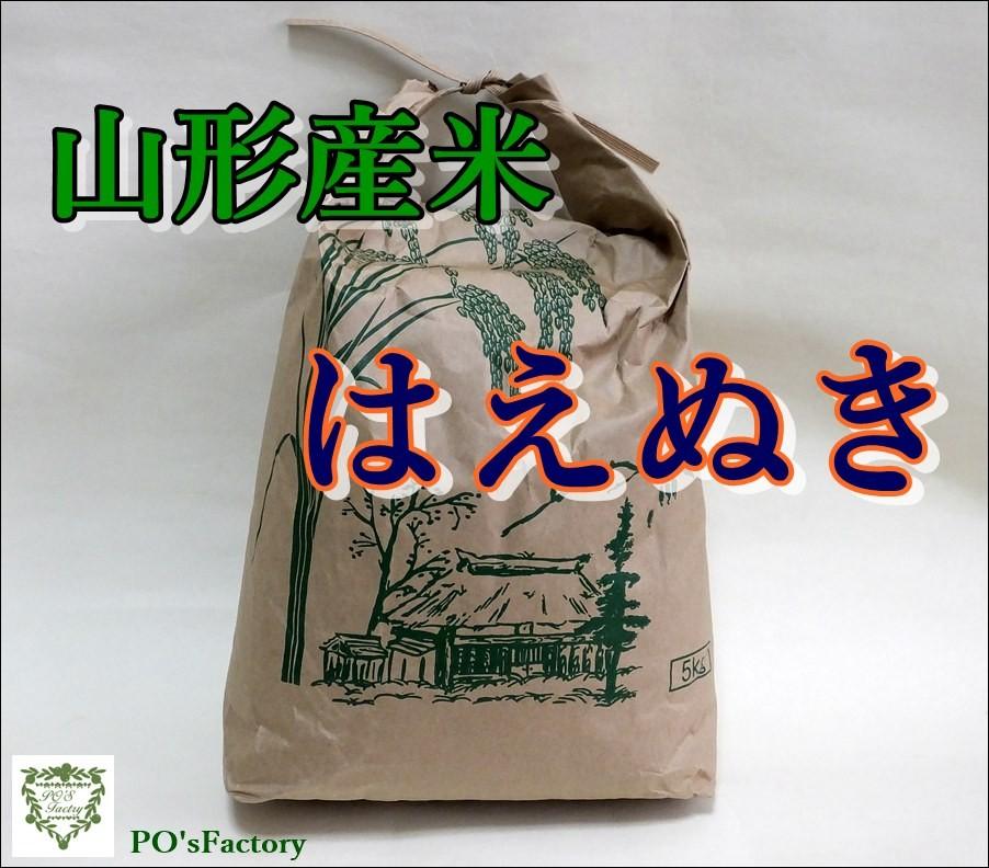 米(こめ)  山形産「はえぬき」 15kg/産地直送 送料無料対象商品