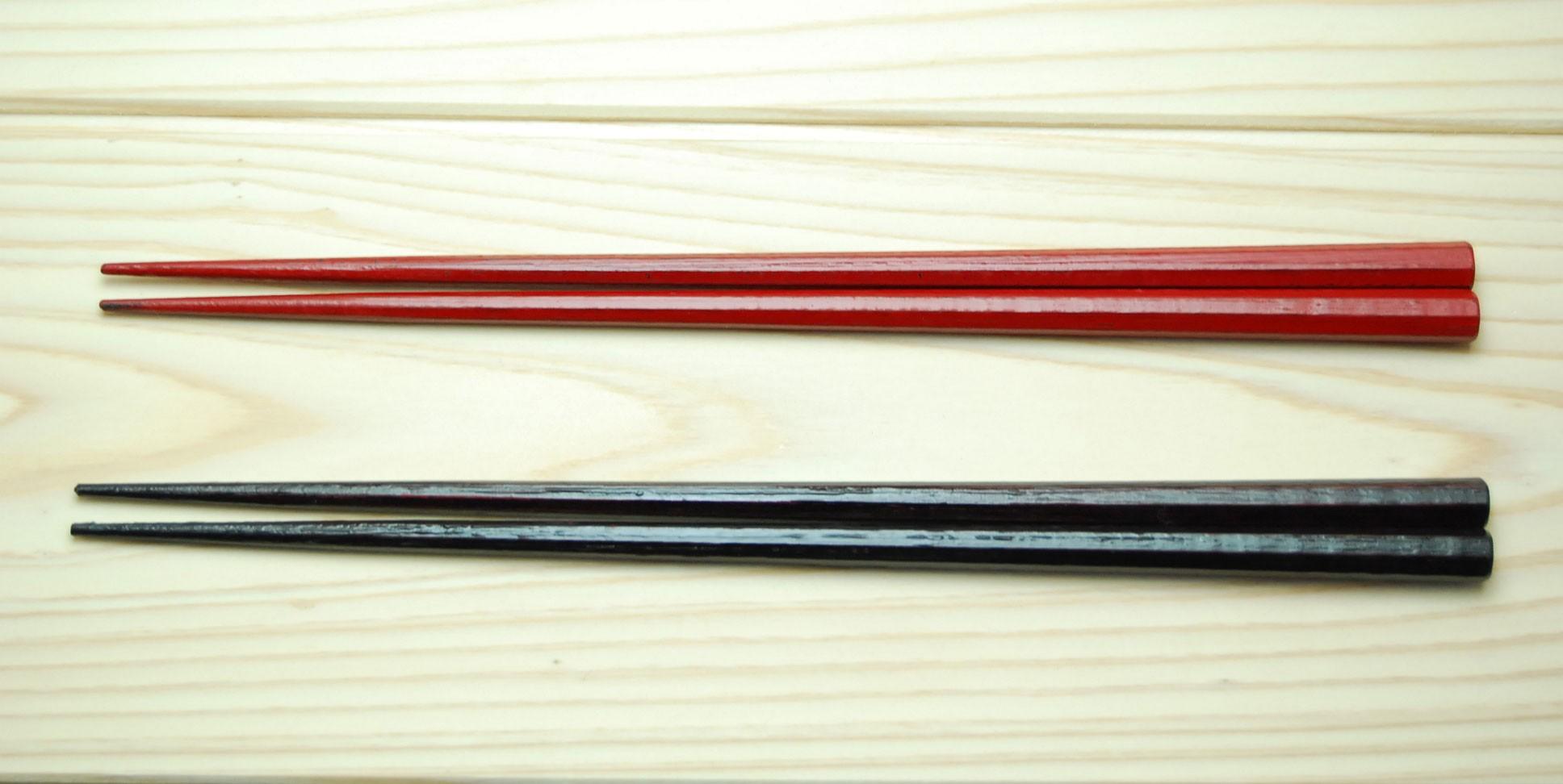 八角箸(越前漆器)