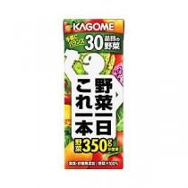 【まとめ買い】カゴメ 野菜一日これ一本 紙パック 1箱(200ml×24本)