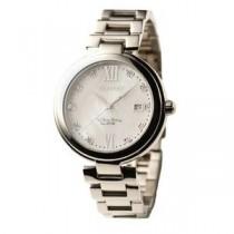 Forever(フォーエバー) 腕時計 デイト付き FG-1201-1 ホワイトシェル×シルバー