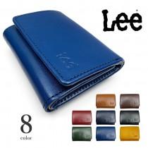 【全8色】 LEE リー 高級イタリアンレザー 三つ折り財布コンパクト ウォレット