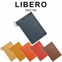 【全6色】 LIBERO リベロ 高級イタリアンレザー キーケース キーホルダー