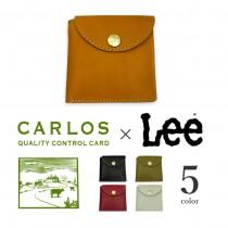 【全5色】 LEE リー × CARLOS カルロスレザー 高級グローブレザー 二つ折り財布