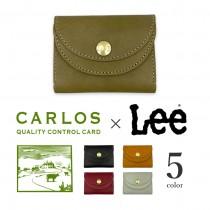 【全5色】 LEE リー×CARLOS カルロスレザー高級グローブレザー ミニ財布