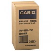 カシオ計算機(CASIO) レジ用サーマルロール TRP-5880-TW 20巻