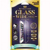 Revolution Glass Wide White iPhone6用 0.33mm液晶保護ガラスフィルム RGWDW