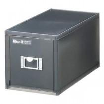 吉川国工業 卓上収納 収納ボックス CDケース ライフモジュール ブラック