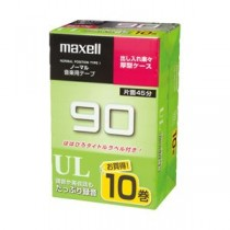日立マクセル カセットテープ UL-90 10P 1パック(10巻) UL90 10P