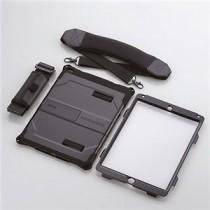 エレコム iPadair2用ベルト付ZeroshockHardケース TB-A14HVBK