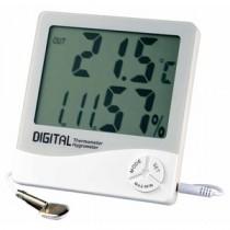 EMPEX(エンペックス) デカデジファイブ(デジタル湿度計/内・外温度計/時計/カレンダー) TD-8130