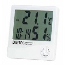 EMPEX(エンペックス) デジタル温湿度計(時計/カレンダー付) TD-8140