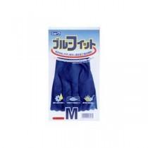 (まとめ)ショーワグローブ ゴム手袋ブルーフィット Mサイズ 181【×40セット】