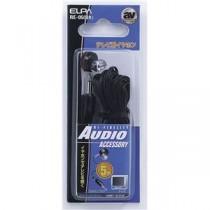 (まとめ) ELPA テレビ用イヤホン 3.5φミニプラグ ブラック 5m RE-05(BK) 【×10セット】