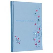 (業務用セット) ラインストーン表紙 ギフトアルバム 写真/ハート(ブルー)/B5 アH-B5B-241-1-B【×3セット】