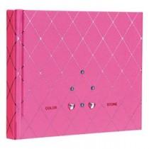(業務用セット) ラインストーン表紙 ギフトアルバム 写真/ダイヤ(ピンク)/ミニ アH-MB-181-2-P【×3セット】