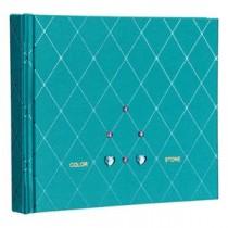 (業務用セット) ラインストーン表紙 ギフトアルバム 写真/ダイヤ(ブルー)/ミニ アH-MB-181-2-B【×3セット】