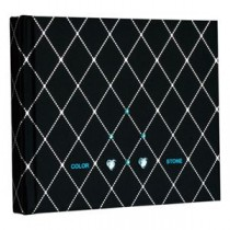 (業務用セット) ラインストーン表紙 ギフトアルバム 写真/ダイヤ(ブラック)/ミニ アH-MB-181-2-D【×3セット】