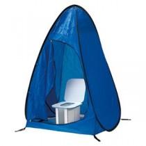 (まとめ) ホリアキ インスタントイレ 快速快適テント 快速快適テント青 1台入 【×2セット】