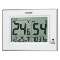 (まとめ) シチズン 掛・置兼用時計 ライフナビD200A 8RD200-A03 1個入 【×2セット】