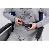 特殊衣料 車いす用小物 車椅子シートベルト カーバックルタイプ 4017