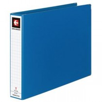 (まとめ) コクヨ データバインダーT(バースト用・ワイドタイプ) T11×Y15 22穴 450枚収容 青 EBT-551B 1冊 【×5セット】