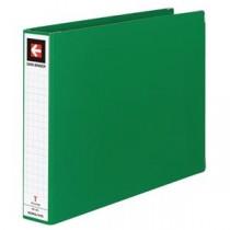 (まとめ) コクヨ データバインダーT(バースト用・ワイドタイプ) T11×Y15 22穴 450枚収容 緑 EBT-551G 1冊 【×5セット】