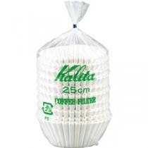 (まとめ) カリタ 立ロシ コーヒーフィルター 25cm 1セット(500枚:250枚×2パック) 【×2セット】