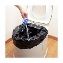 (まとめ) サンコー トイレ非常用袋 10回分 【×3セット】