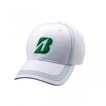 ブリヂストンゴルフ プロモデルキャップ WG(白/緑) L