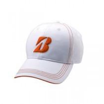 ブリヂストンゴルフ プロモデルキャップ WO(白/オレンジ) L