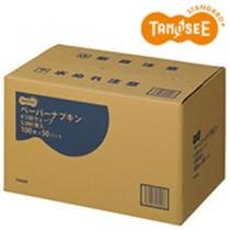 【訳あり・在庫処分】TANOSEE ペーパーナプキン 6つ折ウエーブ 5000枚入/箱