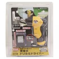 trad 充電式ドリル&ドライバー(DIY用) TCD-360 3.6V イエロー