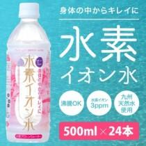 身体の中からキレイに 水素イオン水(500ml×24本)