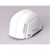 防災用折りたたみヘルメット BLOOM(ホワイト)【防災ヘルメット】