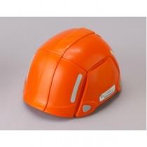 防災用折りたたみヘルメット BLOOM(オレンジ)【防災ヘルメット】
