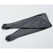 ブチルゴム手袋DBGBT15/8-8.5 ベンチ、ドラフト関連品