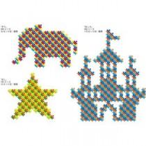 (業務用2セット) マービー 無限連結ぬりパズル