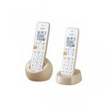 SHARP JD-S08CW-C デジタルコードレス電話機 子機2台 ベージュ系
