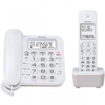 パイオニア デジタルコードレス留守番電話機 子機1台付 ホワイト TF-SA16S(W)